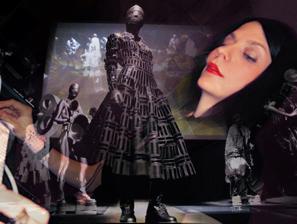 Gareth Pugh. Fashion Show. Guggenheim Bilbao Museum. 'MID_E in GUGGENHEIM'.- ESTUDIO YOX